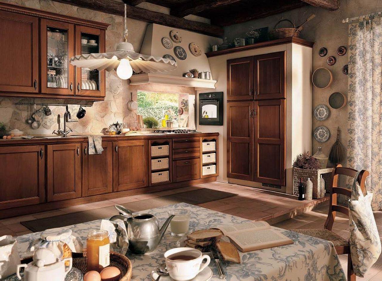 Vintage Kitchen Interior Design