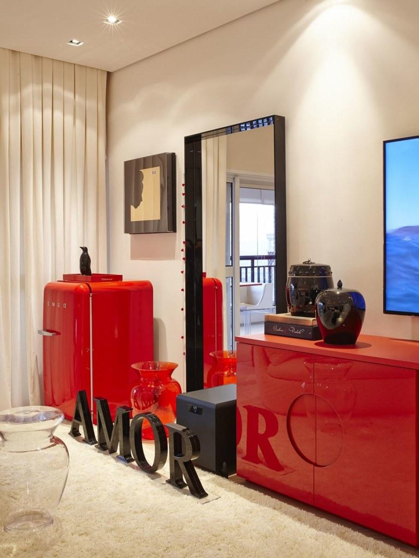 Interior Of Apartment In Sao Paulo Brazil