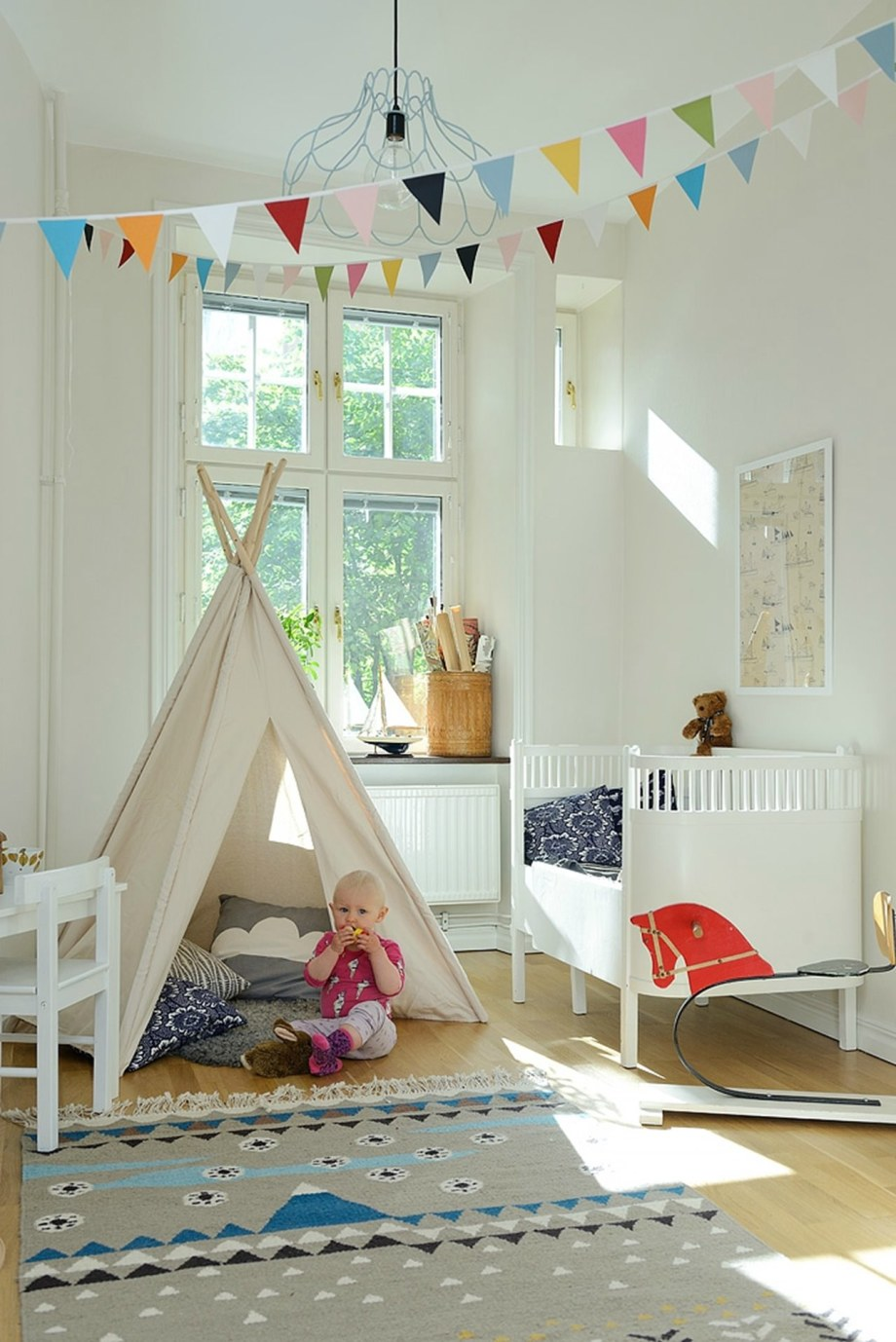 Scandinavian Styled Children S Room