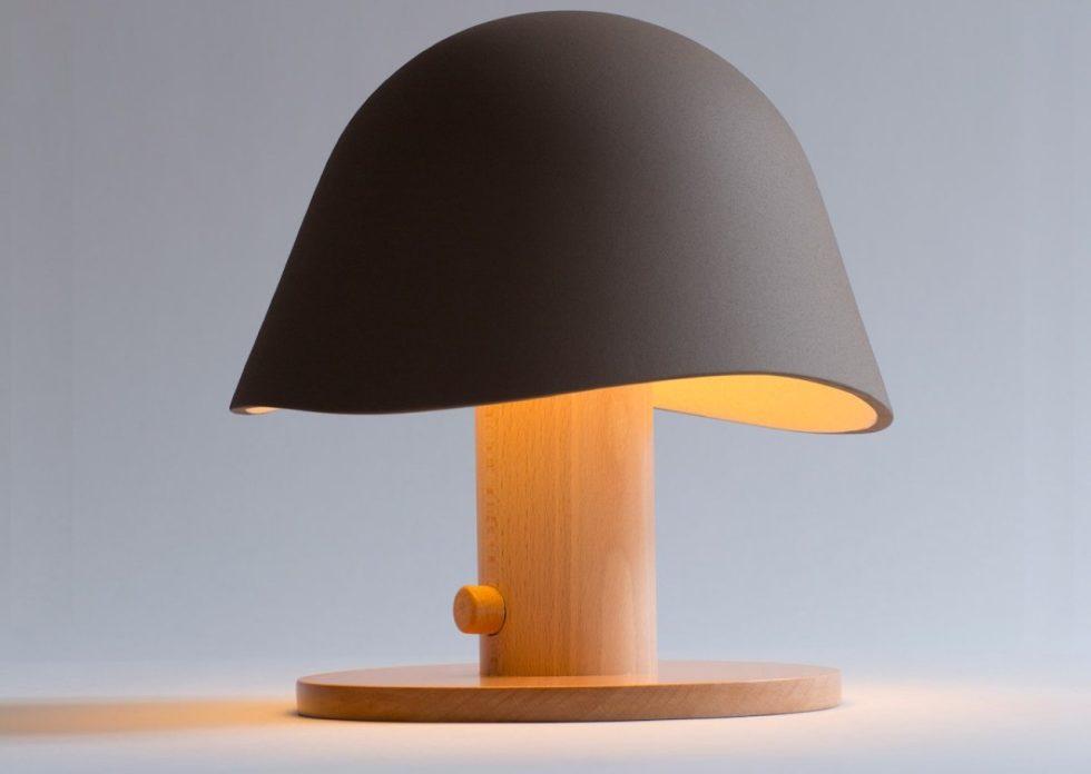 Mush Lamp A Portable Table Lamp