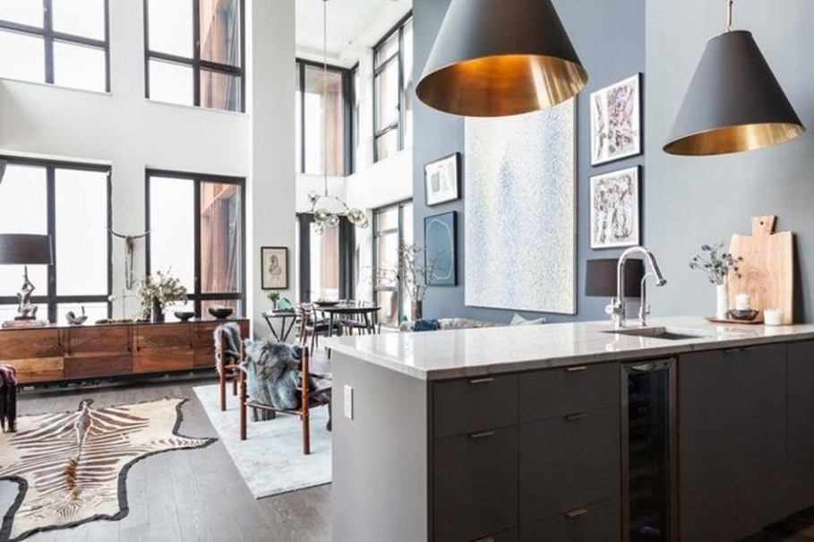 Interior Design Luxury Apartments In Bohemian District Of