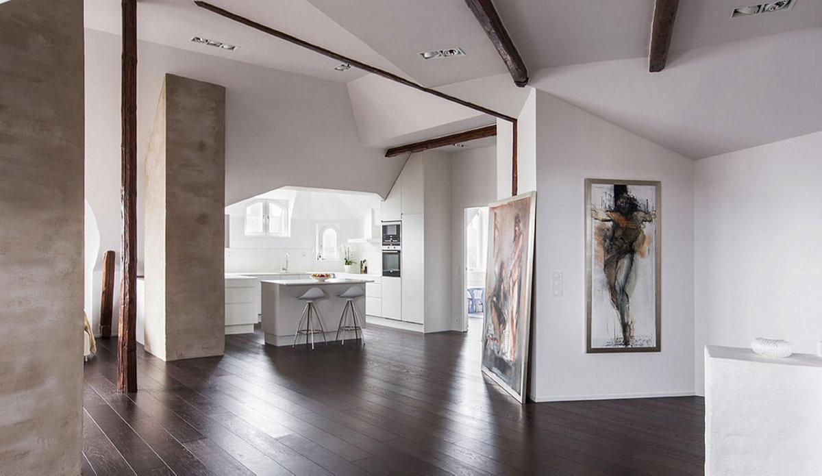 Elegant Apartment In Scandinavian Style Stockholm