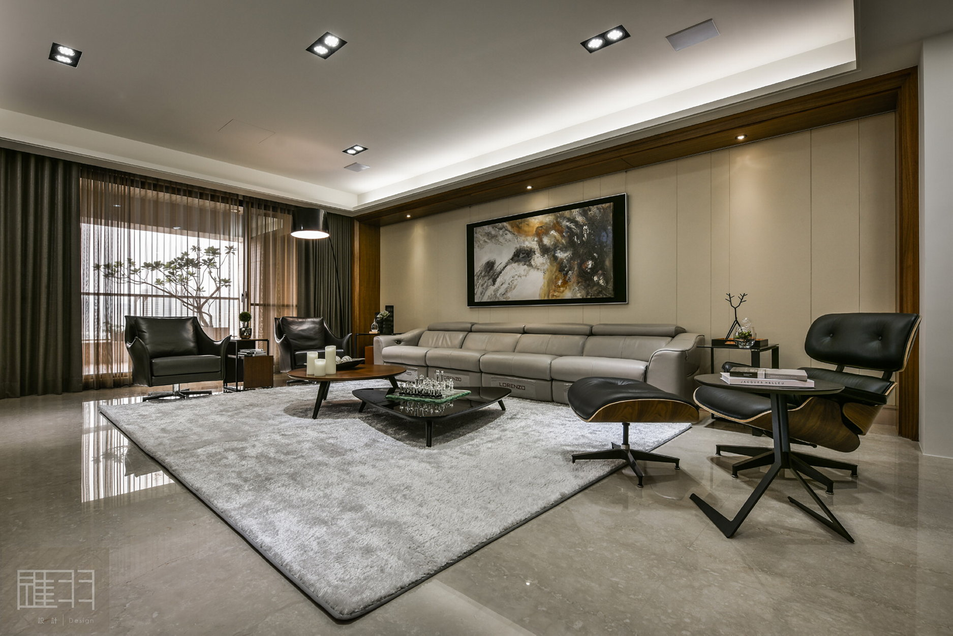 Interior Of The Apartment In Taiwan From Manson Hsiao Hui