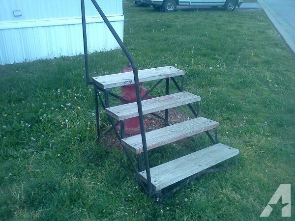 Mobile Home Steps Webb City Sale Joplin Missouri Bestofhouse Net | Wood Mobile Home Steps | Wooden | Pool | Outdoor | 8X12 Porch | Concrete