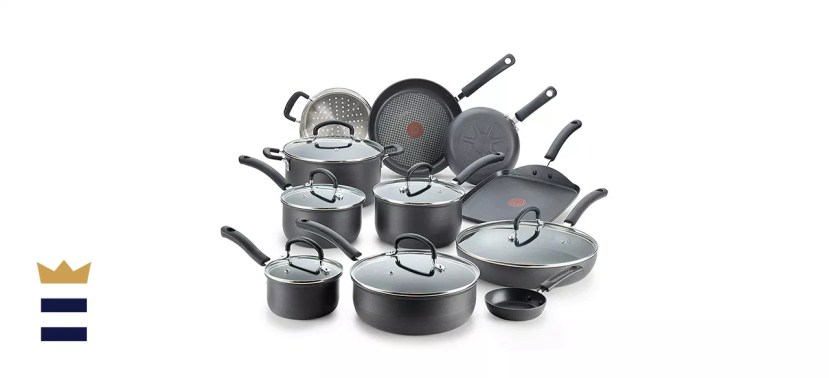 T-fal Ultimate Hard Anodized Nonstick Cookware Set