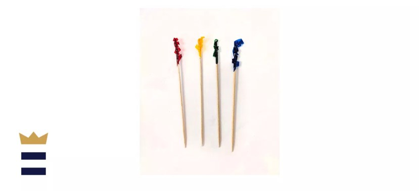 Update International PC-F102 Cellophane Frill Toothpicks