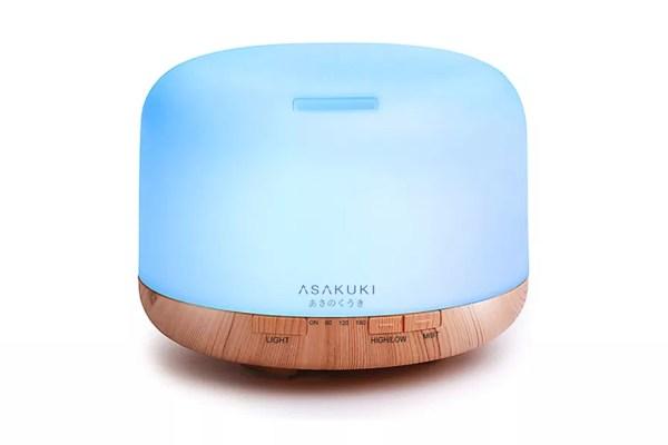 ASAKUKI Ultrasonic Aromatherapy Fragrant Oil Humidifier Vaporizer