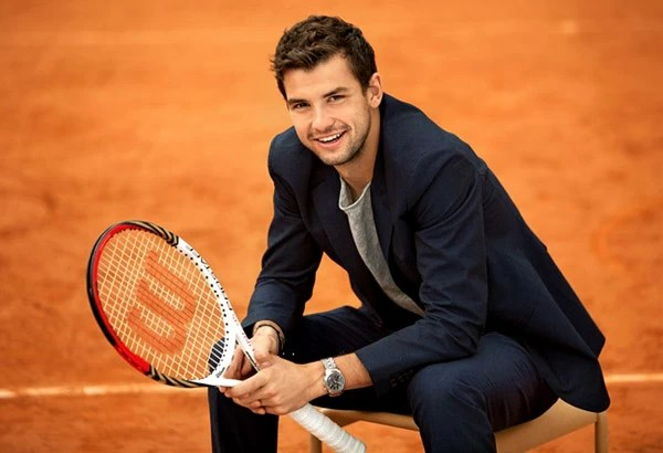 World famous tennis player Grigor Dimitrov is the current ...