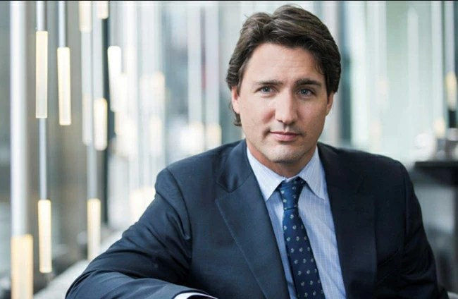 Image result for trudeau suit