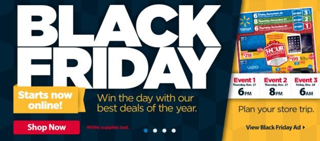 walmart black friday deals online sales available on thanksgiving bgr. Black Bedroom Furniture Sets. Home Design Ideas