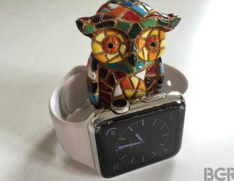 Apple Watch Cracked Sapphire Display