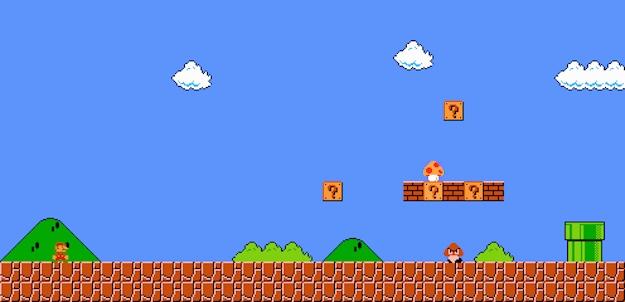 Image result for Super Mario Bros 1-1