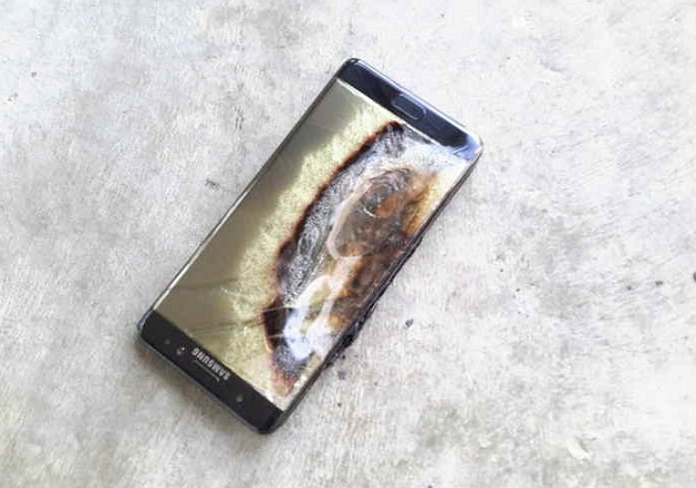 Image result for note 7 exploded