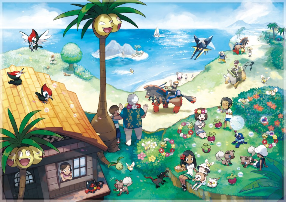 Image result for pokemon moon