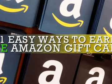 21 Easy Ways To Earn Free Amazon Gift Cards Fast 2019 Update