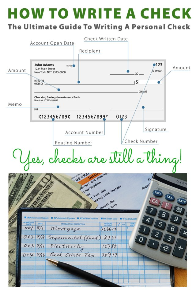 How To Write A Check: The Ultimate Guide To Writing A Check In 27