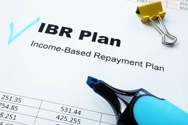 Student Loan Forgiveness IBR Plan