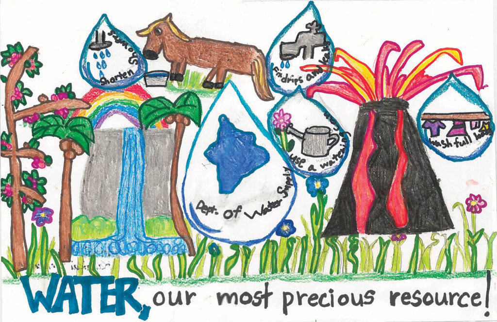 keiki water conservation poster contest