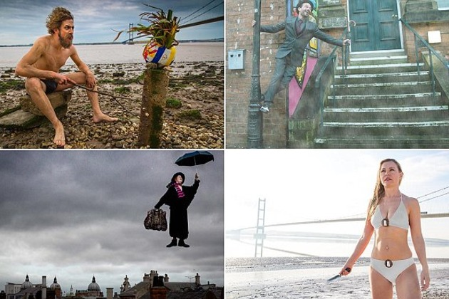 hull residents recreate hollywood film scenes to celebrate becoming city of culture
