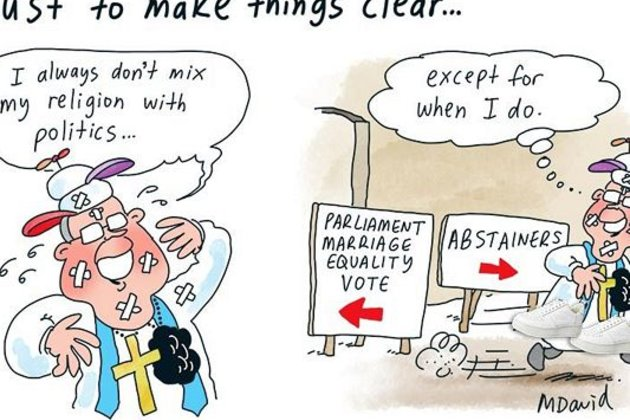 Religion retains hold on Australian politics in 'soft theocracy'