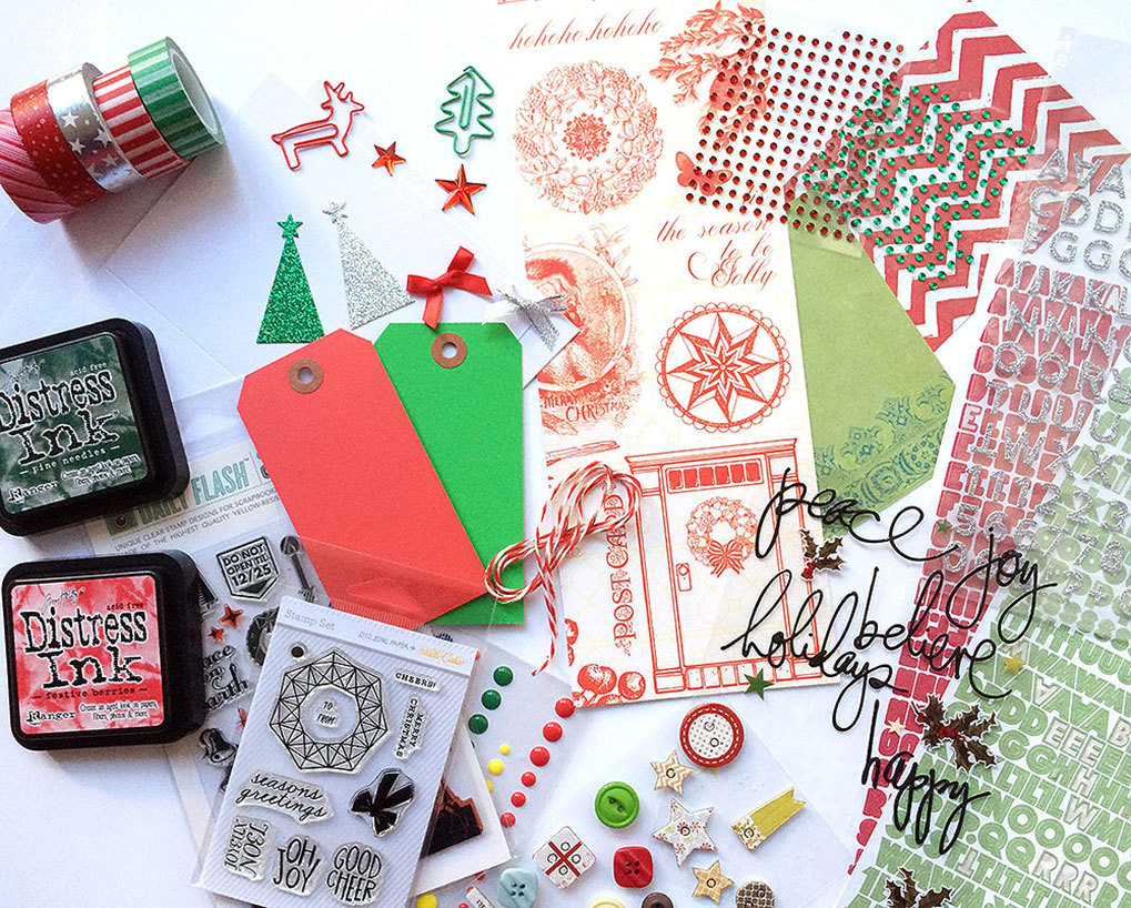 Big Picture Classes Blog Make A Holiday Card Kit From