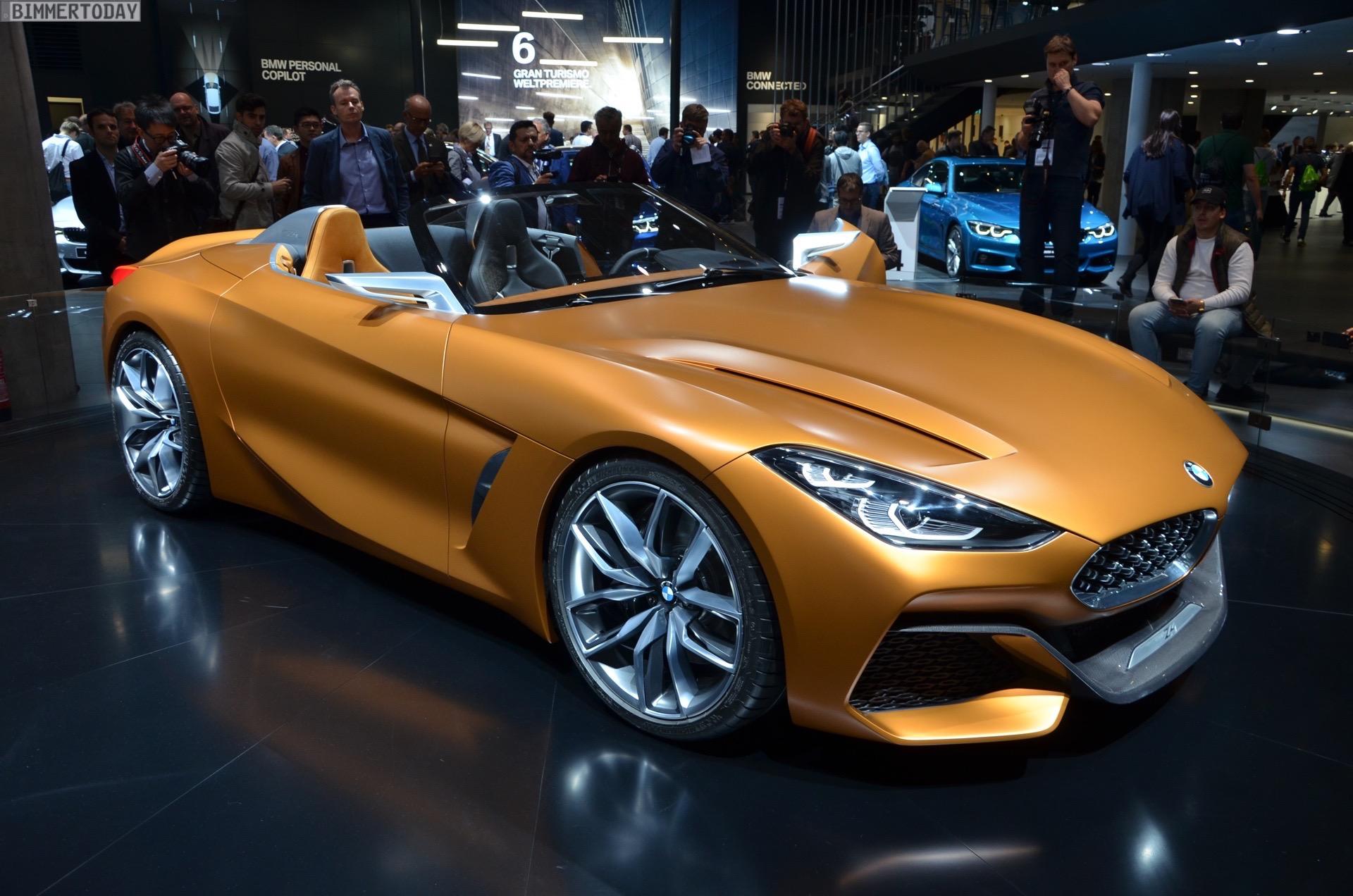 BMW Z4 M40i G29 Kommt Das Sportliche Top Modell In Zwei