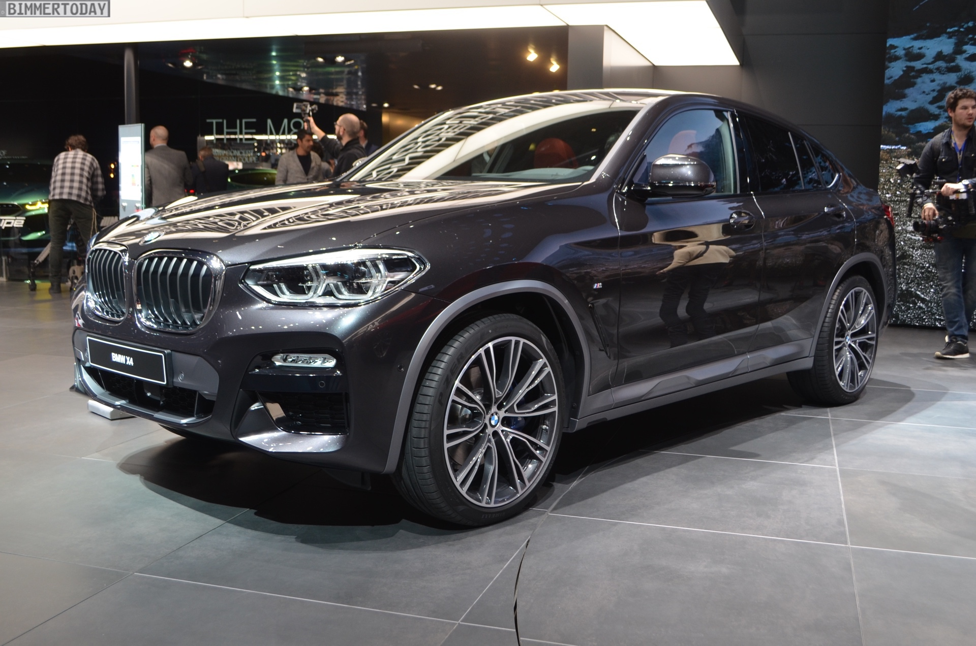 Genf 2018 Live Fotos BMW X4 G02 M Sport X In Sophistograu