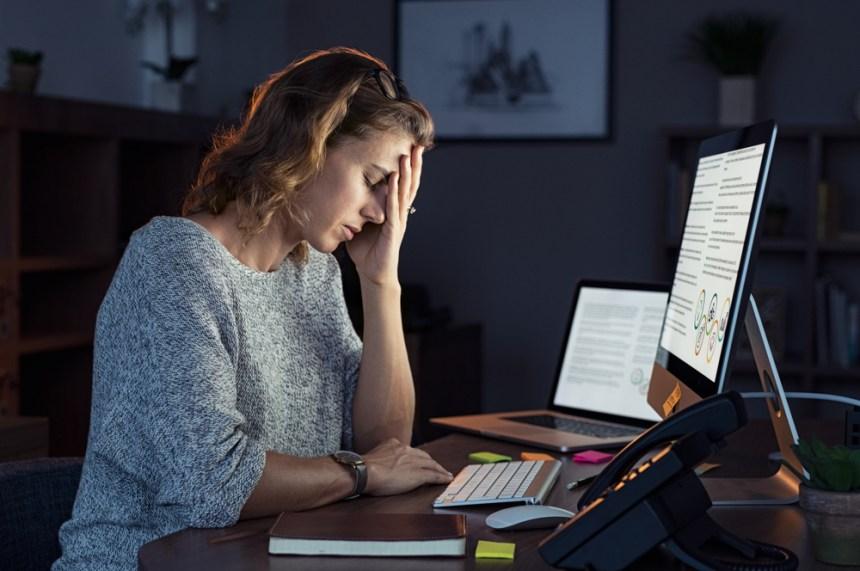 Lo stress sul lavoro