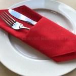 Servietten Falten Bestecktasche Tischdeko Basteln Mit Papier Servietten
