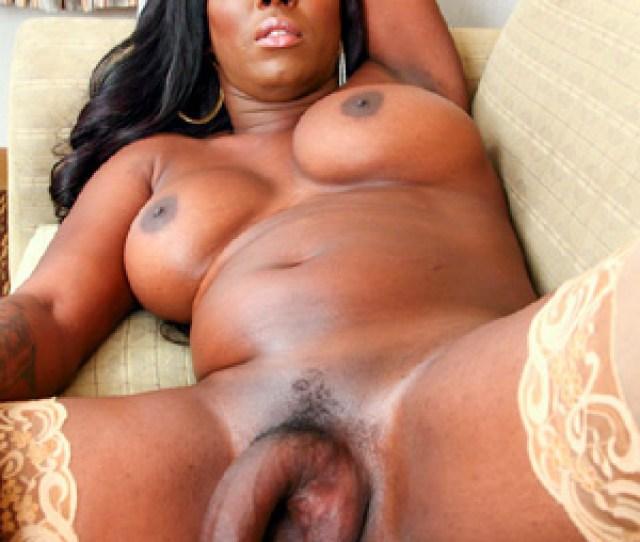 Big Black Tranny Tits