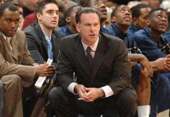WASHINGTON, DC - JANUARY 12:  Head coach Jamie Dixon of the Pittsburgh Panthers looks on during a college basketball game against the Georgetown Hoyas on January 12, 2011 at the Verizon Center in Washington, DC.  The Panthers won 72-57.  (Photo by Mitchell Layton/Getty Images)