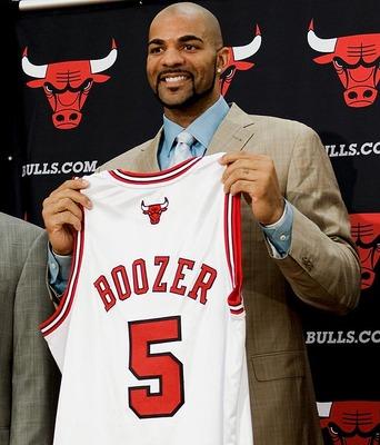 Carlos Boozer já avisou, qualquer coisa menos do que o Título da NBA será um fracasso para o Chicago Bulls em 2011.