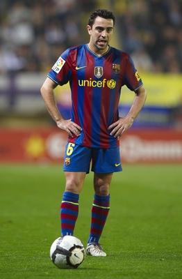 Barcelona's Xavi Hernandez