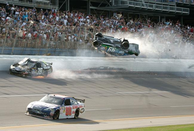 Carl Edwards' Insane Wreck