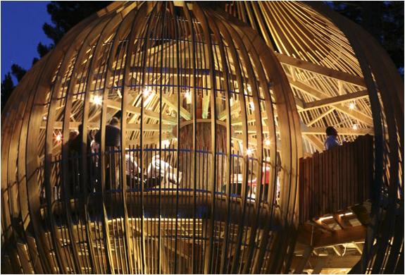 Restaurant Zealand Yellow New Treehouse