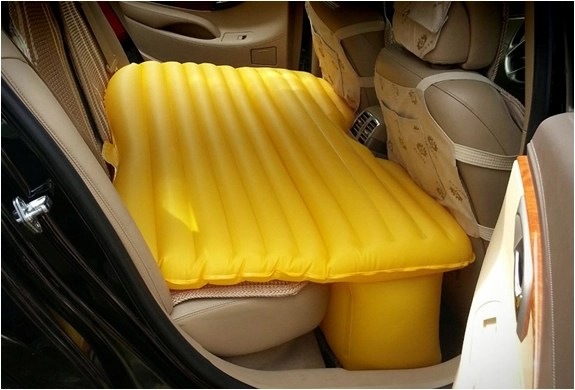 Inflatable Car Air Mattress Image