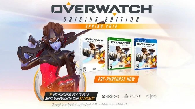 Overwatch Origins Edition 40 Preorder Offer Console Availability Skins And Heroes Confirmed