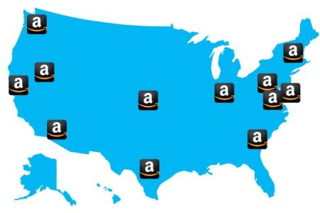 map of amazon distribution centers » 4K Pictures | 4K Pictures [Full ...