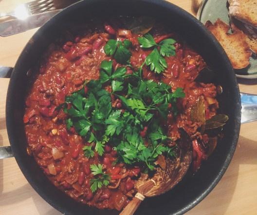 Verdens bedste chili con carne