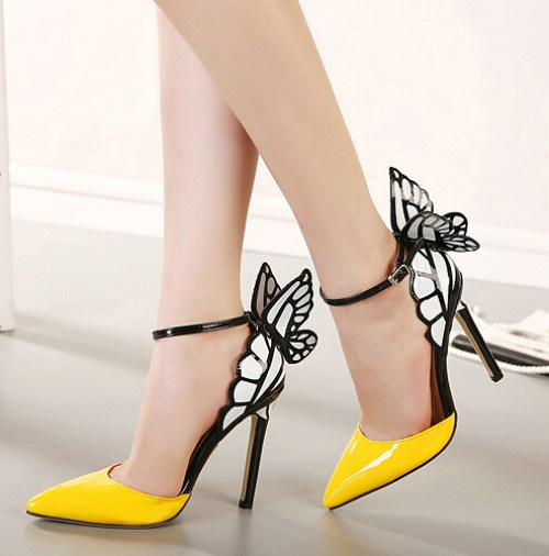 Hot-Sale-Brand-Sophia-Webster-Cleo-Sandals-Genuine-Leather-Pumps-Butterfly-Ultra-High-Heel-Sandals-For