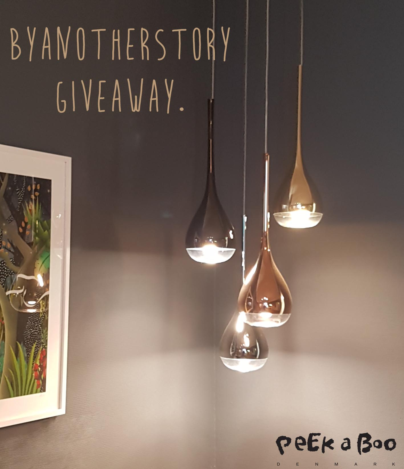 Eksklusiv Lampe Giveaway Give Away Peekaboo Design