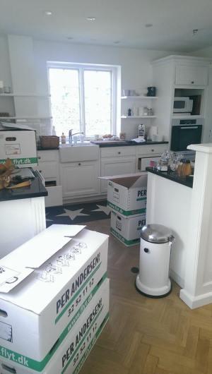 køkken flytning