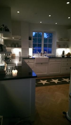 køkken indrettet