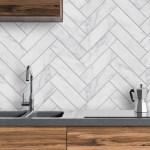 Herringbone Marble Pimp Your Kitchen