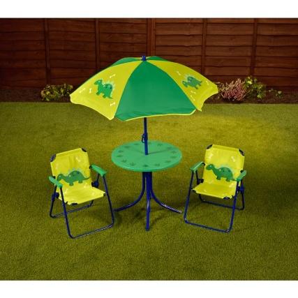 offer bmstores childrens patio set 4pc