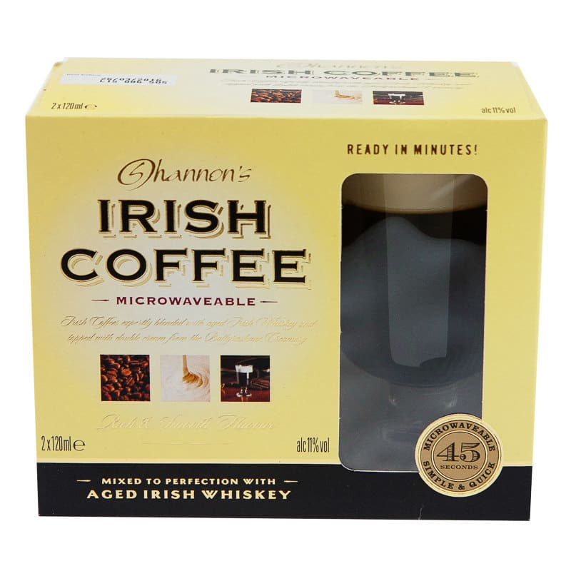 Shannons Irish Coffee Gift Set 2 X 120ml Alcohol Gift Sets