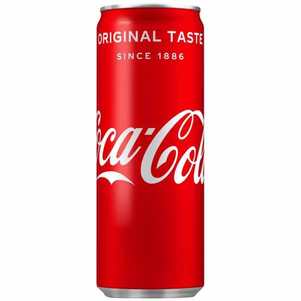 Coca-Cola Can 250ml   Soft Drinks - B&M