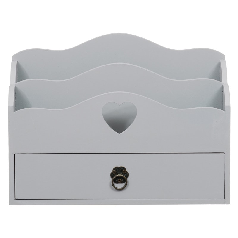 Letter Rack With Drawer Home Decor Accessories Storage