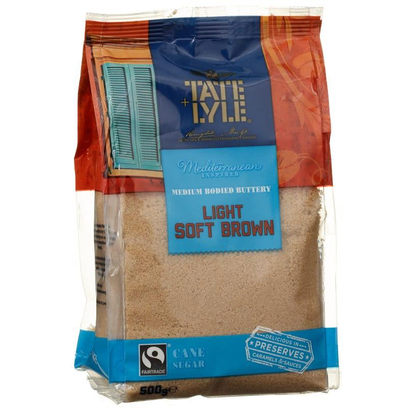 Tate Amp Lyle Fairtrade Light Brown Sugar 500g Groceries B Amp M