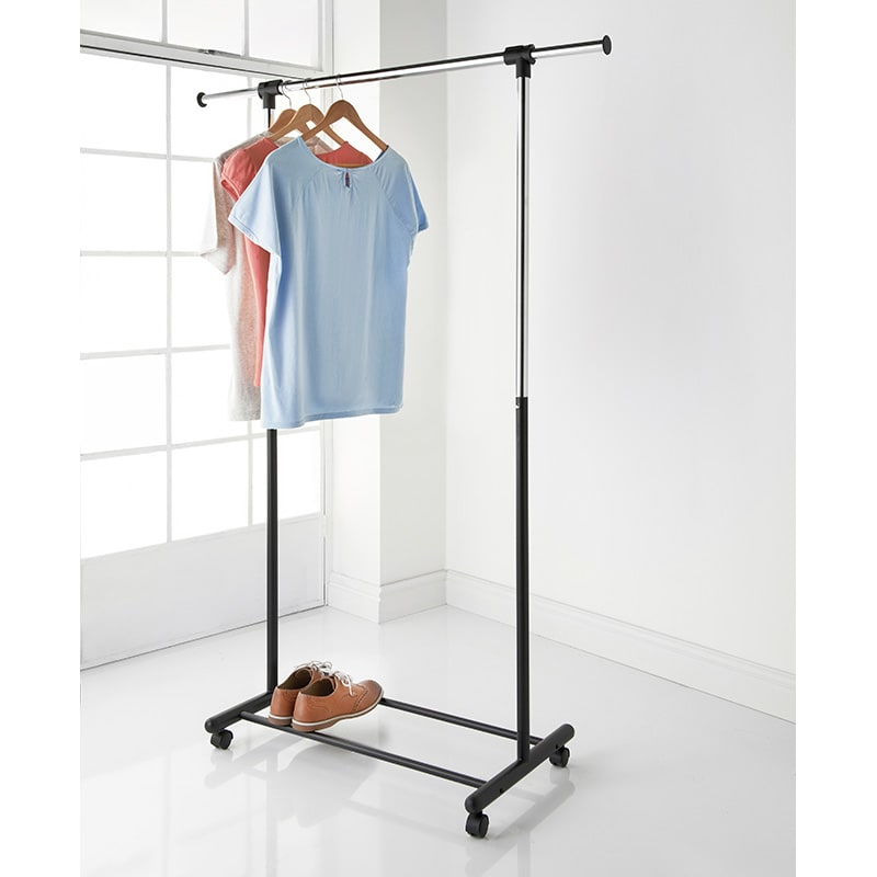 Extendable Garment Rack Storage Furniture BampM Stores